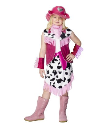 Pink Rodeo Girl Dress-Up Outfit - Girls