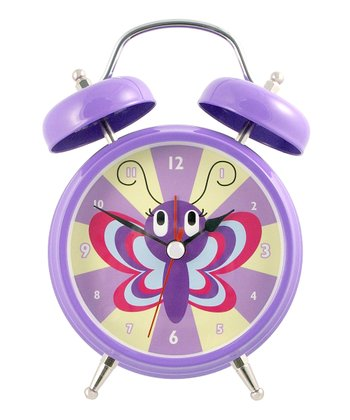 Butterfly Talking Alarm Clock