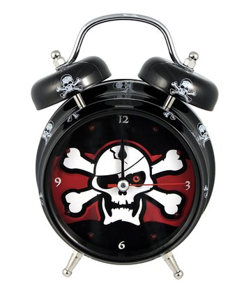 Pirate Light-Up Talking Alarm Clock