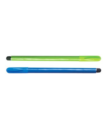 Blue & Green Stylus Pen Set