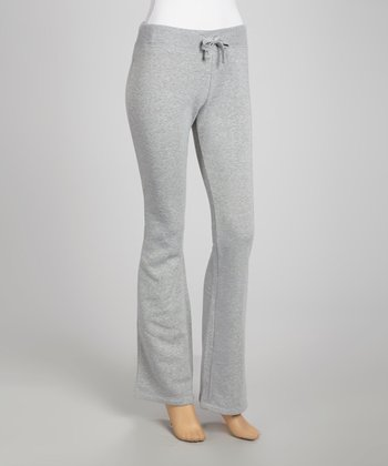 Heather Gray Fleece Sweatpants