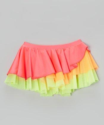 Mondor Goji Tiered Ruffle Skirt - Toddler & Girls