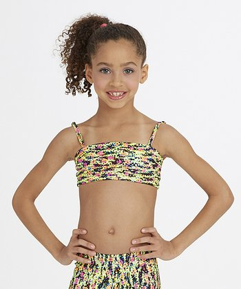 Neon Bandeau Top - Girls
