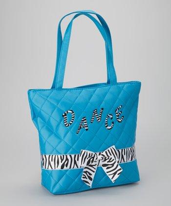 Blue Zebra 'Dance' Tote