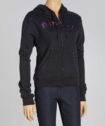 Black 'Prima Divaz' Sweatshirt - Women