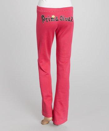 Pink 'Prima Divaz' Sweatpants - Women