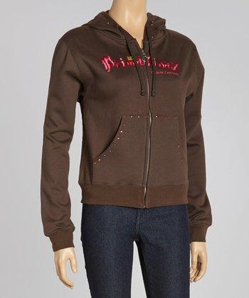 Brown 'Prima Divaz' Sweatshirt - Women