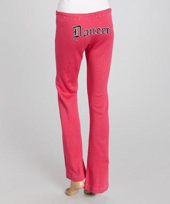 Pink 'Dancer' Sweatpants - Women