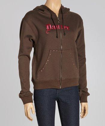 Brown 'Dancer' Sweatshirt - Women