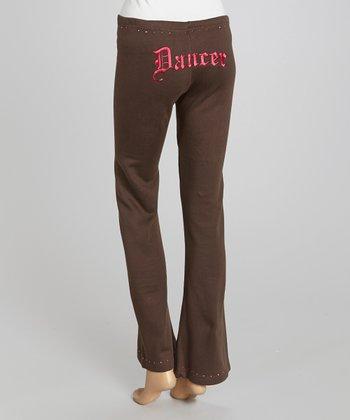 Brown 'Dancer' Sweatpants - Women