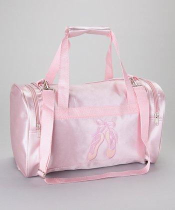 Seesaws & Slides Pink Ballet Shoes Duffel Bag