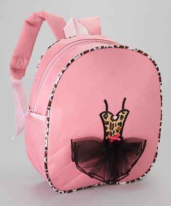 Seesaws & Slides Pink Leopard Ballet Tutu Backpack