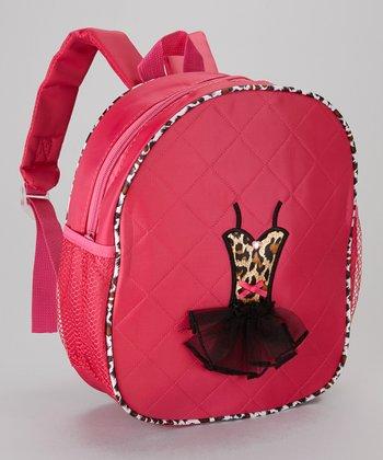 Seesaws & Slides Fuchsia Leopard Ballet Tutu Backpack