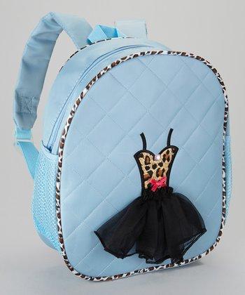 Seesaws & Slides Blue Leopard Ballet Tutu Backpack