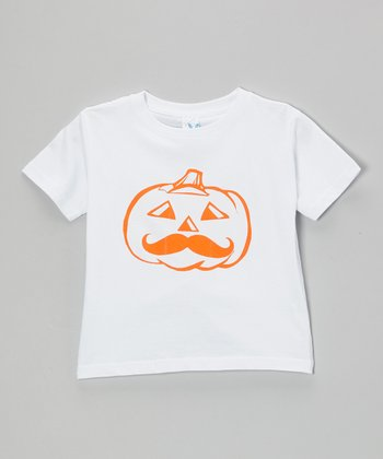 White Pumpkin Short-Sleeve Tee - Infant, Toddler, Kids & Adult