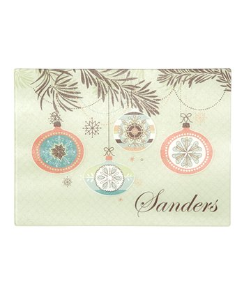 Ornaments Personalized Cutting Board