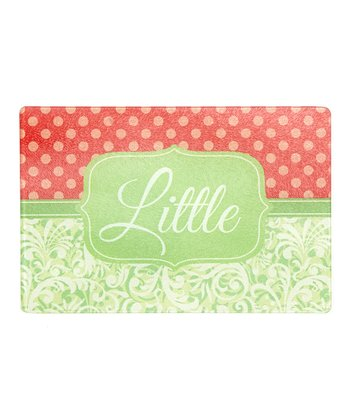 Floral Small Personalized Cutting Board