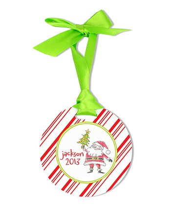 Darling Santa Personalized Ornament
