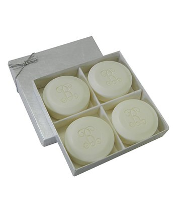Vine Initial Soap - Set of Four