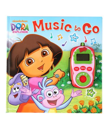 Dora Music to Go Board Book