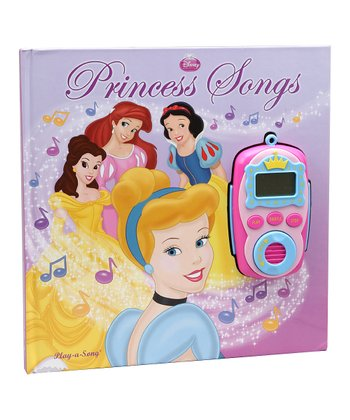 Disney Princess Board Book & Music Player