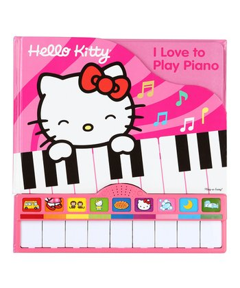 Hello Kitty: I Love to Play Piano Sound Board Book
