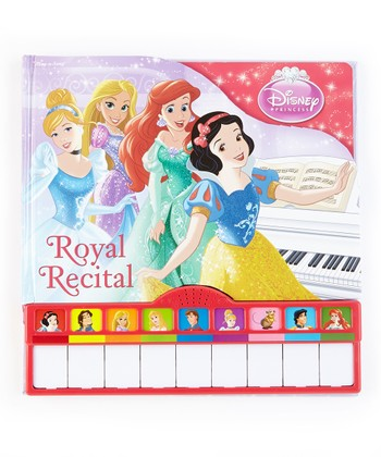 Disney Princess Royal Recital Book