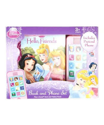 Disney Princess Book & Phone Set