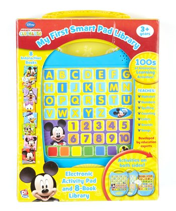 Mickey Mouse Clubhouse My First Smart Pad Library
