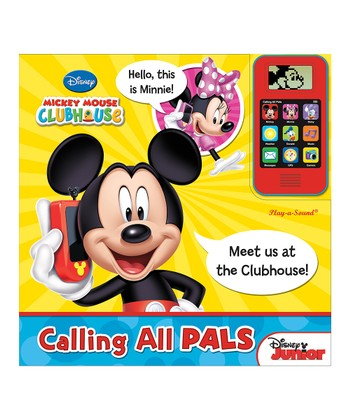 Mickey Mouse Clubhouse Calling all Pals Cell Phone Board Book