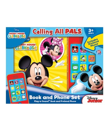 Mickey Mouse Clubhouse Calling All Pals Book & Phone Set
