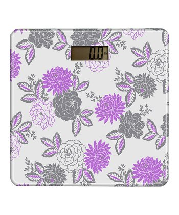 Violet Cheri Glass Digital Scale