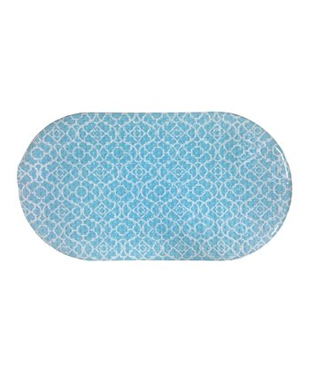 Aqua Lovely Lattice Bath Mat