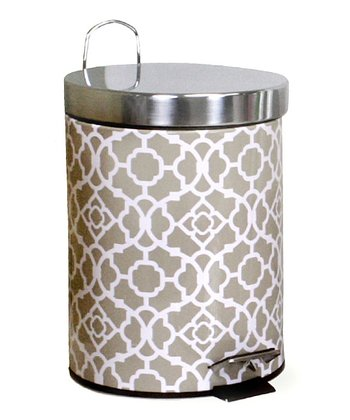 Sand Lovely Lattice Waste Bin