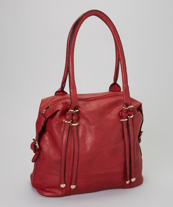 Burgundy Shoulder Bag