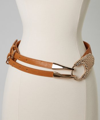 Brown Shimmer Belt