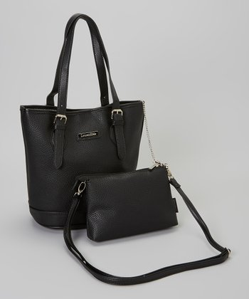 Black Clovelly Bucket Bag