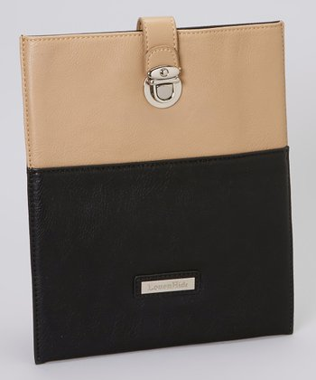 Biscuit & Black Lily iPad Case
