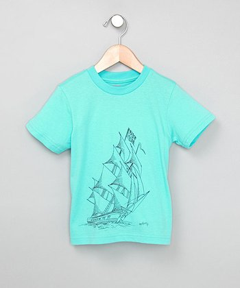 Aqua Pirate Ship Tee - Infant, Toddler & Boys