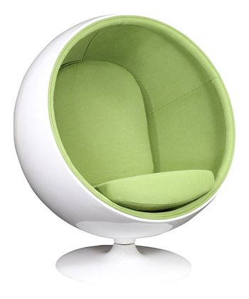 Green Kaddur Lounge Chair