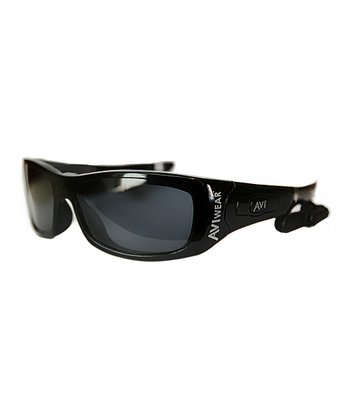 Black Interceptor Video-Recording Sunglasses Deluxe Set