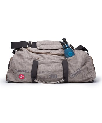 Gray & Black Roadtripper Yoga Bag