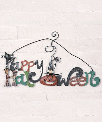 'Happy Halloween' Wall Art