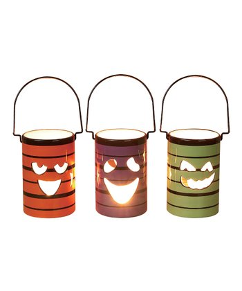 Jack-o'-Lantern Luminary Set