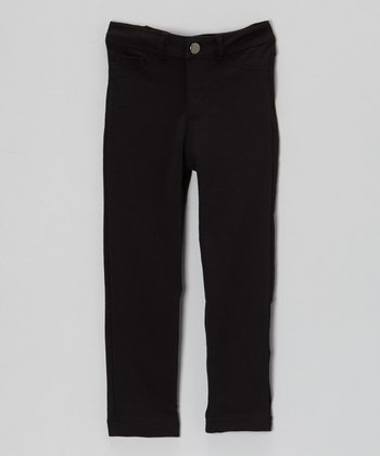 Black Skinny Pants - Toddler & Girls