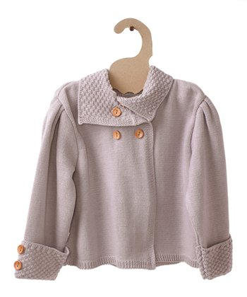 Old Rose Pearl Organic Jacket - Girls