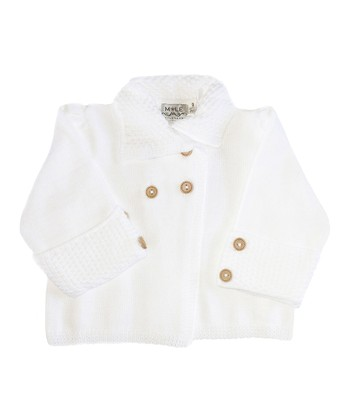 White Pearl Organic Jacket - Girls
