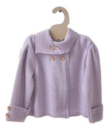 Lavender Pearl Organic Jacket - Girls