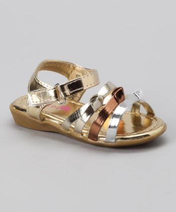 Gold Hope Sandal