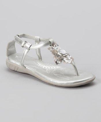 Silver Vivianne Sandal